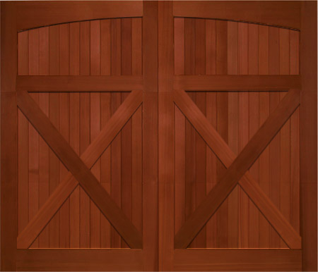 garage door 9x7Wood Garage Doors  Wooden Overhead Door  Paint Grade Garage Doors