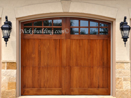 Arched Garage Doors With 16 Lites ...