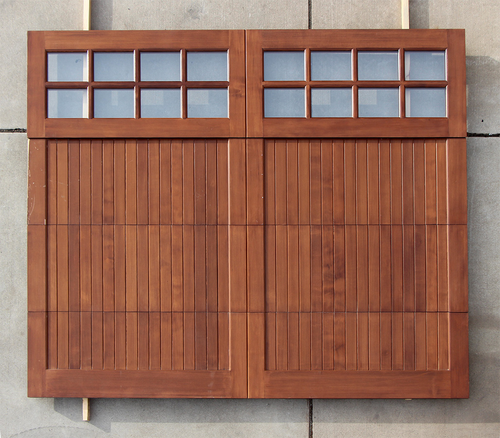 Garage doors need repairs for Cedar wood garage doors price