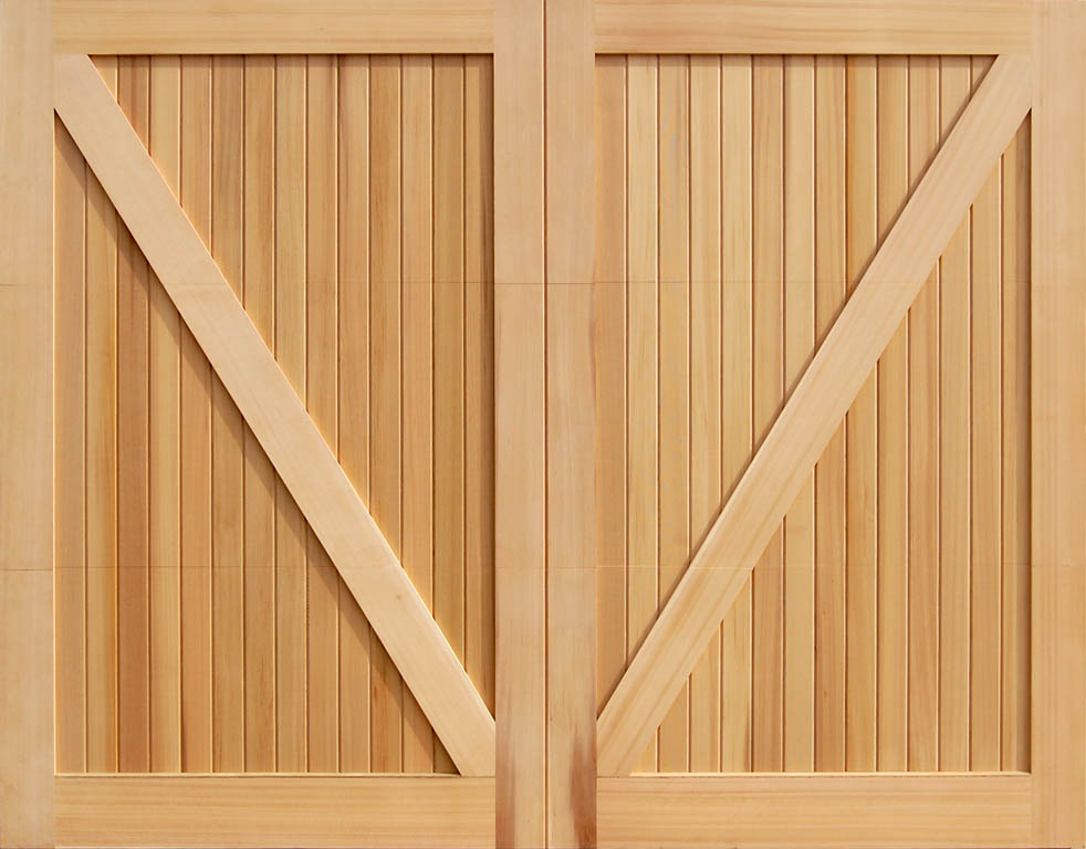 Wood Overhead Garage Doors Cedar Ebay