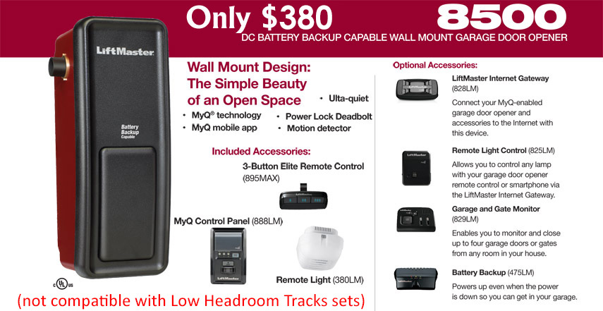 Garage Door Openers By Liftmaster